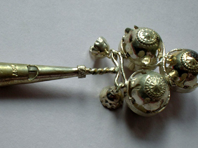 Children's Silver Rattle