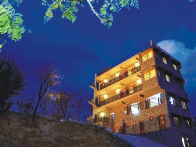 Lodge at Pong, Kangra, Himachal Pradesh